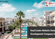 Real estate website design and development company