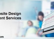 Healthcare website design and development services