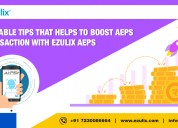 Hire aeps portal that help to boost aeps transacti