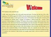 Tourism company hiring candidatesj job