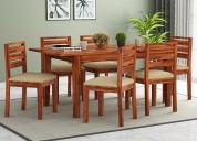 6 seater dining table set online in india upto 55%