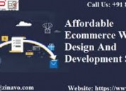 Affordable ecommercedesign and development service