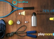 Up to 76% off badminton equipment