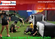 Sports and games activities in delhi