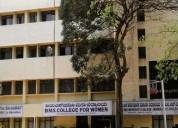 Bms pu college for women   bms pu womens college b