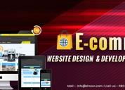 Ecommerce website design and development services