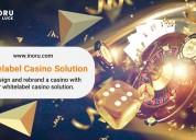 Get the best whitelabel casino solution at inoru