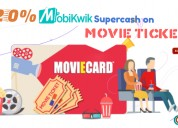 20% mobikwik supercash on movie tickets
