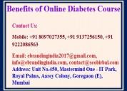Benefits of online diabetes course