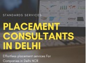 Placement consultants in delhi