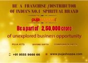 Low-cost franchisee of puja items