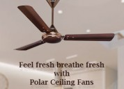 Buy stylish power saving fans online!