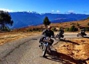 Motorcycle adventure in bhutan