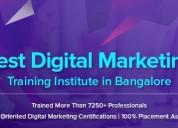 Top digital marketing institutes in bangalore