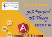 Get angularjs training course in noida at sla cons