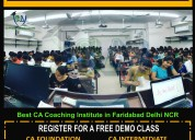 Best ca cs coaching institute in badarpur