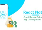 React native app development cost