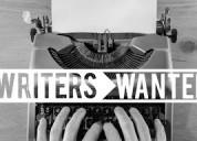 Now hiring: freelance writers