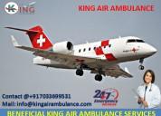 Best king emergency air ambulance service in delhi