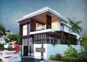 Remarkable 3d bungalow elevation designing from o