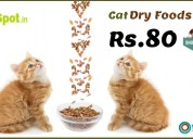 Cat dry foods from rs.80 at dogspot