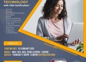 Certification in information technology with usa c