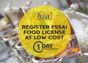 Fssai food license registration online - online le