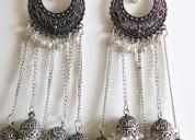 Buy beautiful long earrings online at best price
