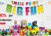Flat 30% off toys collection