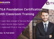Itil 4 foundation training & certification in pune