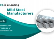 Mild steel bars manufacturer
