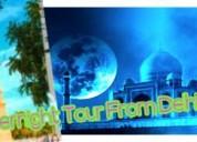 Tajmahal overnight tour from delhi