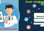 Medical website design and development services