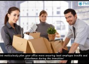 Seamless office shifting service with pmrgo