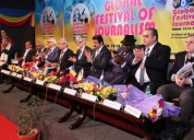 8th global festival of journalism inaugurated