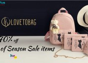 Lovetobag coupons: up to 70% off end of season sal