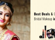 Best deals and offers for bridal makeup in chennai