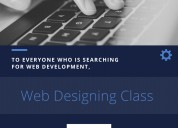 Web designing and development training courses in