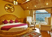 Deluxe cottages in manali