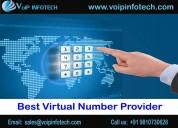Benefits of choosing best virtual number providers