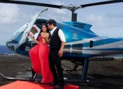 Helicopter for marriage ceremony in punjab