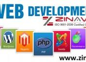 Web development company | zinavo
