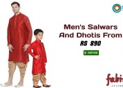 Men's salwars and dhotis from rs. 890