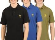 Get barlas solid men polo neck multi color tshirt