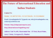 The future of international education and indian s