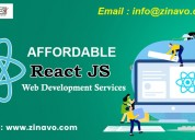 Affordable react js website development company