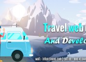 Travel website design and development company