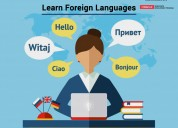 Best foreign language training and certification