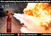 Best fire and safety course in chennai