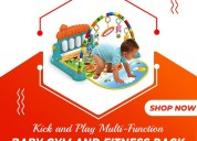 Kick and play piano baby gym (big size) | cleos